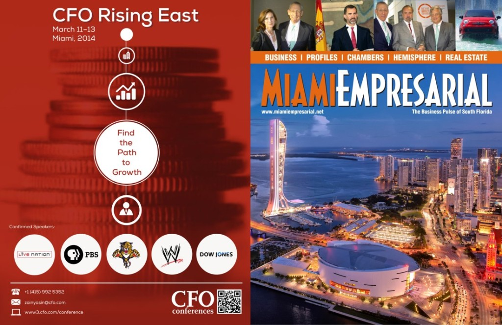 CFO rising east miami cover w