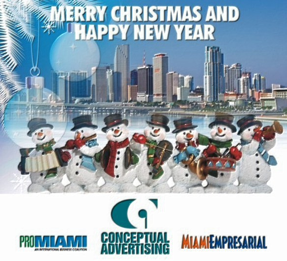 miami empresarial wishes friends and clients merry christmas and a happy new year holiday cheers to all