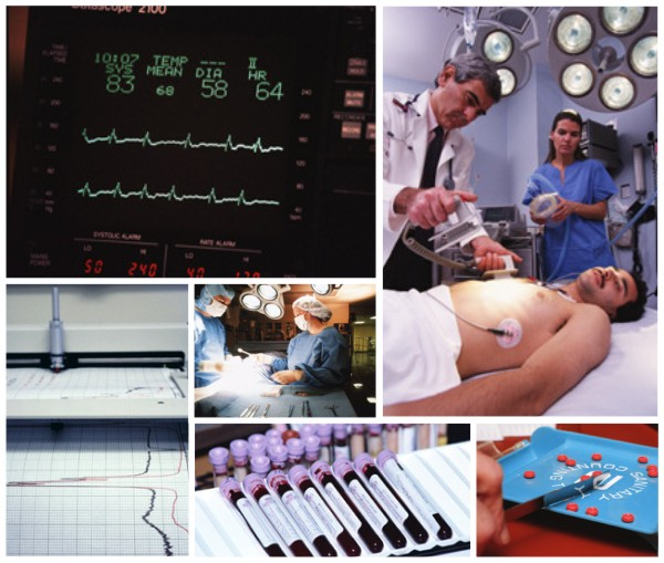 healthcare image collage