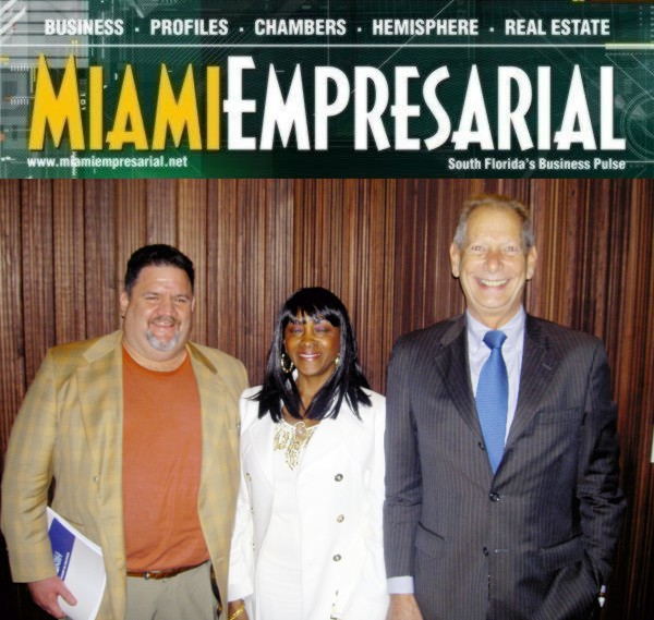 Manuel A. Fernandez, Marsha Brooks and Osvaldo Pirex