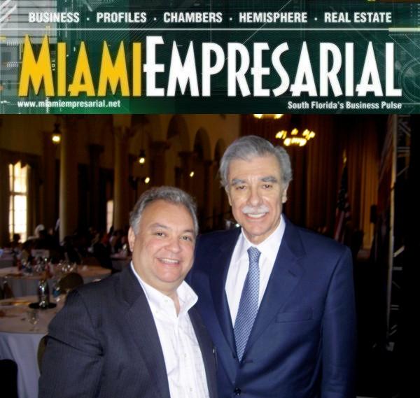Rodolfo M. Blanco, Esq. and former Secretary of Commerce Carlos Gutierrez