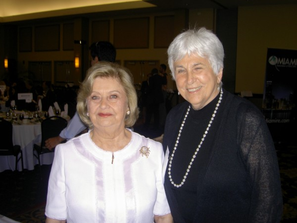 Award winners Alicia Cervera, Sr. and Loretta Cockrum