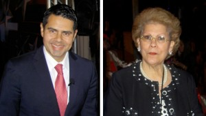 Univision President Cesar Conde and Dr. Antonia Novello, Former US Surgeon General