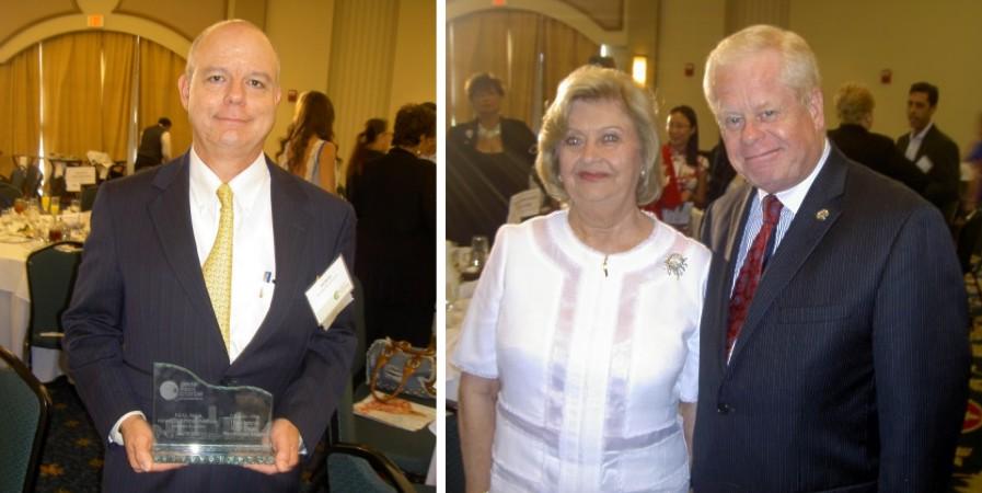 Bill Bailey, Alicia Cervera, Sr. and Barry Johnson