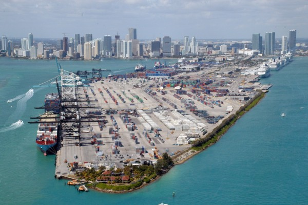 The Port  of Miami
