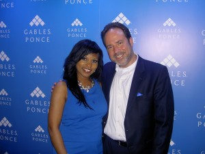 Carol Edwards and Glenn Eibe of Gables Ponce