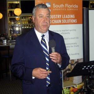 South Florida Logistics Services, Executive V. P. Manny Fernandez