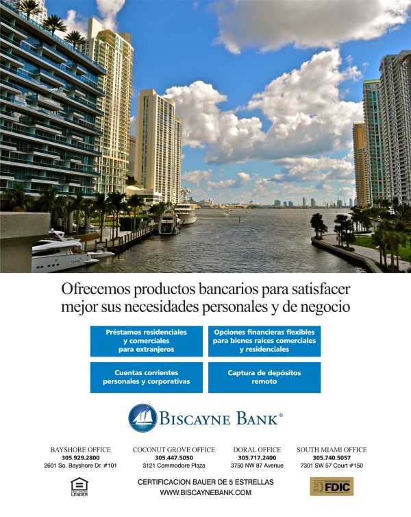 Biscayne Bank - Spanish final ad