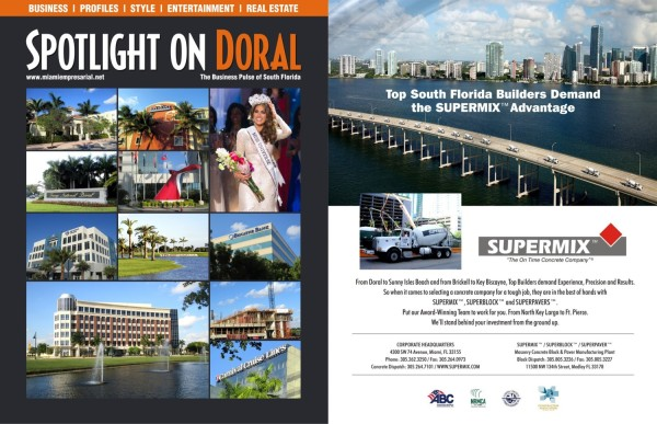 Doral front cover and Supermix w