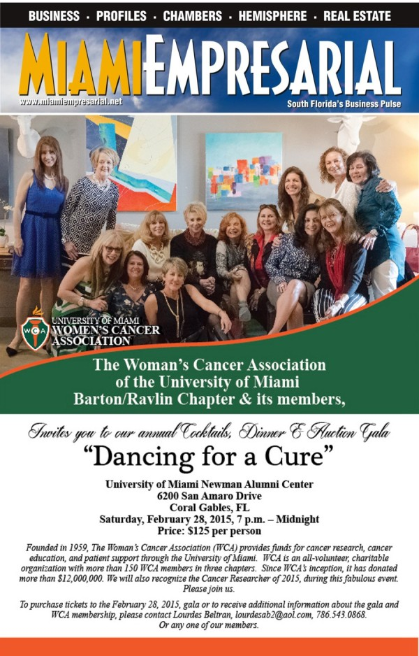 Miami Emp Dancing for a Cure