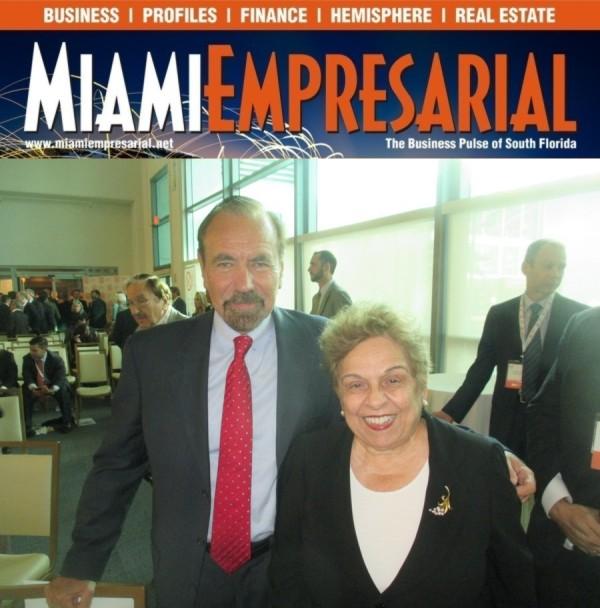 MiamiEmp Jorge Perez Donna Shalala
